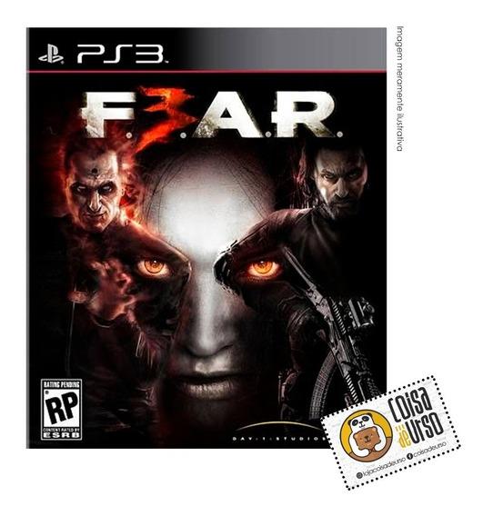 Fear 3 Ps3 (mídia Física)