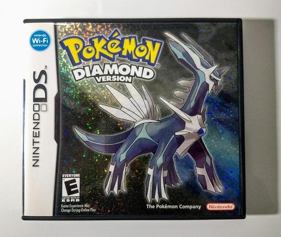 Pokemon Diamond Version - Ds / Dsi / 3ds - Impecável !!!
