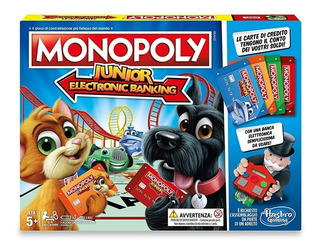 Monopoly Junior Banco Electronico Posnet E1842 Hasbro Edu