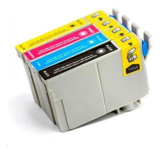 Combo Cartuchos Alternativos Para Epson 133 135 Tx25 Tx125 Tx135