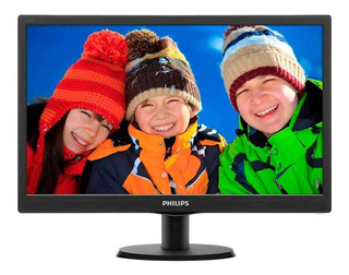 "Monitor Philips 193V5LSB2 LED 18.5"" negro 110V/220V"