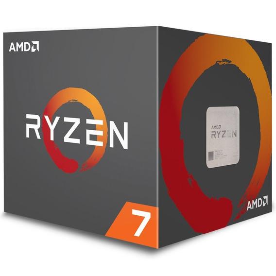 Processador Amd Ryzen 7 2700 3.2ghz Cache 20mb 12x Sem Juros