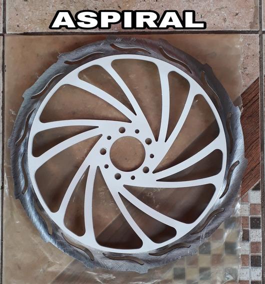 Discao 370mm Aspiral Lançamento Titan Fan 150 Freio Normal