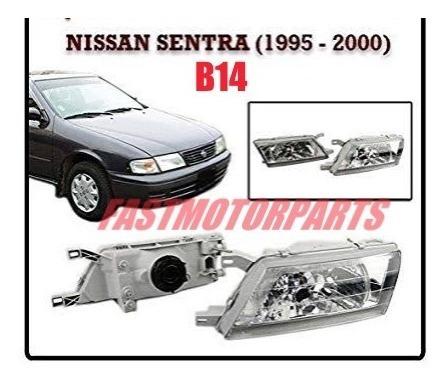 Faro Delantero Nissan Sentra B14 1995-2000