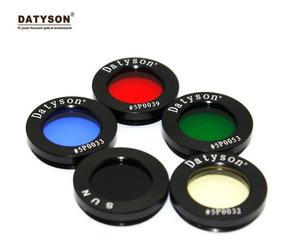 Filtros Para Telescópio Ocular 1,25 Datyson Lentes De Vidro
