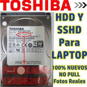 Disco Duro Toshiba Para Laptop 500gb 45, 1tb 60, 2tb 95