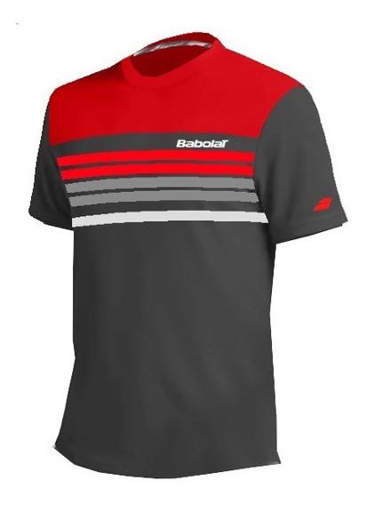 Remera Hombre Babolat T Shirt Pure Rojo