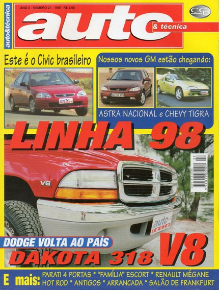 Auto & Técnica Nº27 Dodge Dakota 318 V8 Salão De Frankfurt