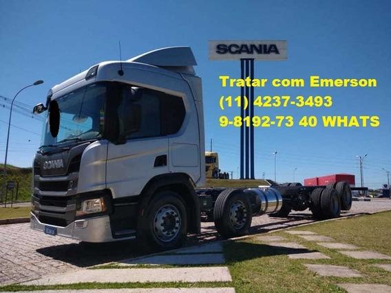 Scania P320 Bitruck Baú Refrigerado Ou Carroceria
