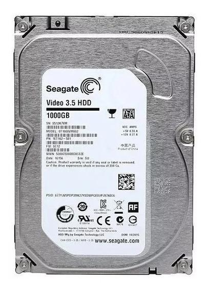 Hd Seagate Video 1 Tb 1000gb Compatível Qualquer Dvr Ou Pc
