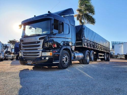 Imagem 1 de 9 de Scania P360 6x2 2014 + Graneleira Facchini 1+1 2021 Com Pneu