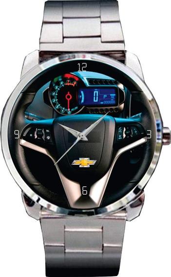 Relógio De Pulso Personalizado Painel Gm Chevrolet Sonic Ltz
