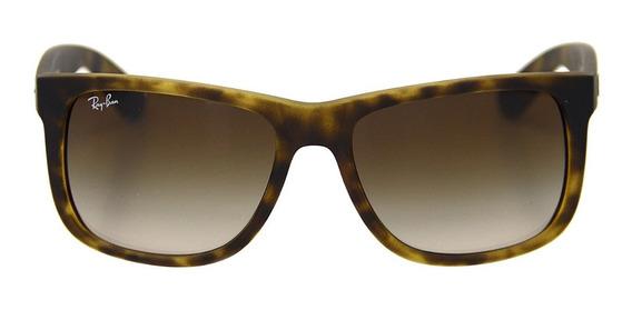 Óculos De Sol Masculino Ray Ban Justin Rb 4165 Original