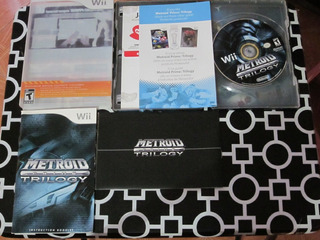 Metroid Prime Trilogy Edicion De Coleccion