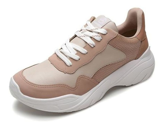 Tênis Sneaker Moderno Via Marte 011201