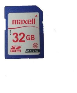 Maxell Memoria Sd 32gb Class 10