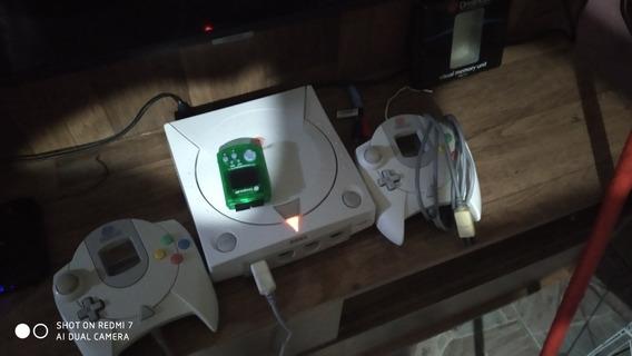 Sega Dreamcast 2 Controles Vmu + Gdemu 64gb Ultra