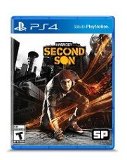 Infamous Second Son Ps4 Original Fisico Sellado Blu-ray Full
