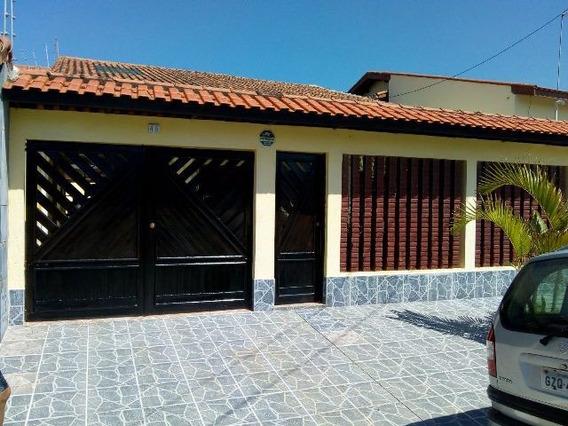Casa Em Itanhaém Ficando Lado Praia 65m Do Mar 4040t