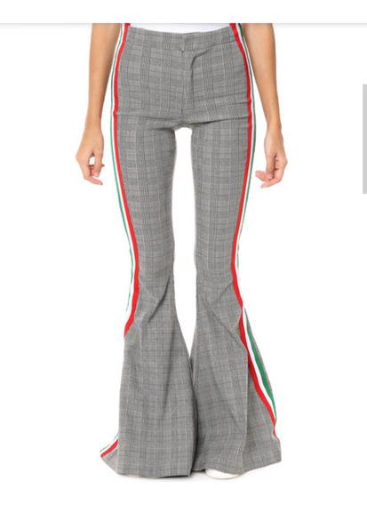 Pantalón Oxford 47 Street Talle 38/40 Diseño Escocés