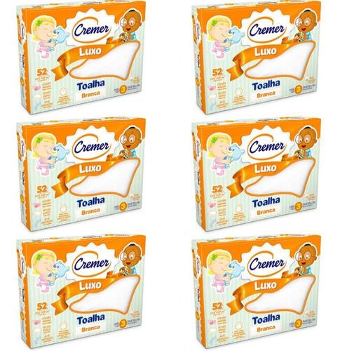 Cremer Luxo Toalha Infantil C/3 (kit C/06)