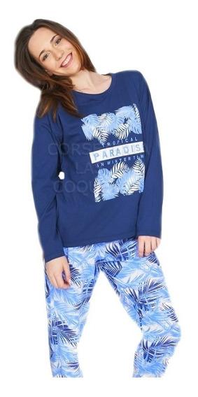 Pijama De Mujer Estampado