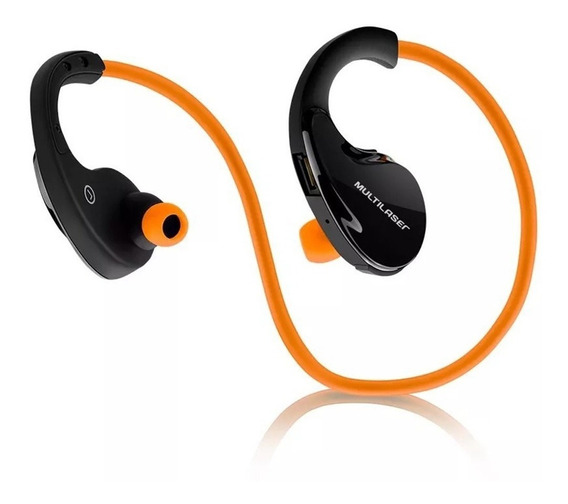 Fone De Ouvido Sport Bluetooth Arco Orange Multilaser Ph185