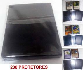 Pacote 01 Magic Mtg Protetores Playmat Decks
