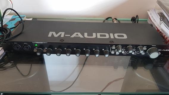 Interface De Áudio M Track Eight 8 Canais
