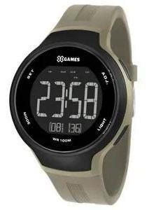Relógio X-games Xmppd556 Pxex Masculino Verde Acizentado