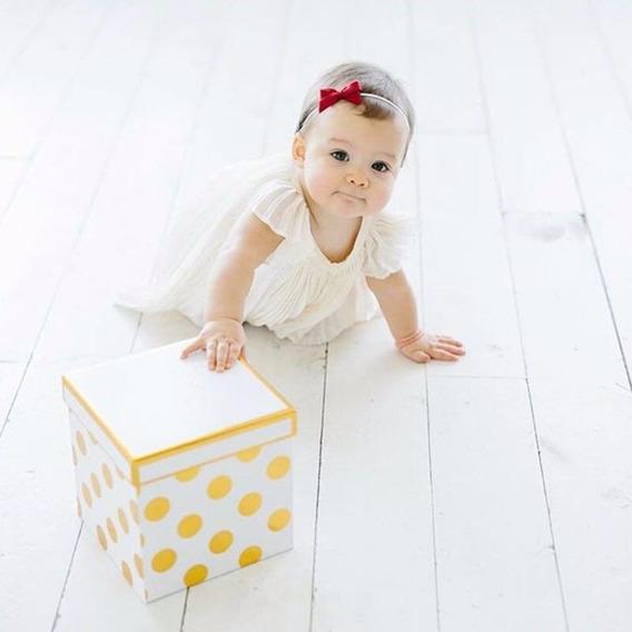 Vestido Infantil De Crepe, Pronta Entrega Estilo Casual