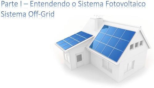 Apostila Instalação Sistema Fotovoltaico- On-grid E Off-grid