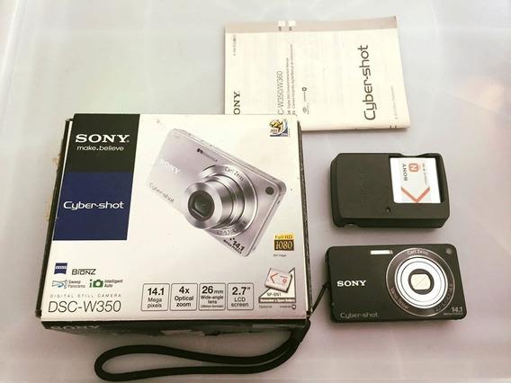 Câmera Sony Cyber Shot Dsc - W350