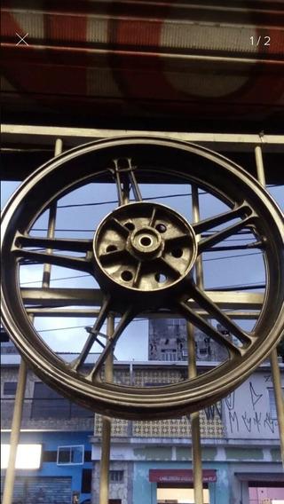 Roda Trazeira E Contra Chok Fazer 250 Usada Original