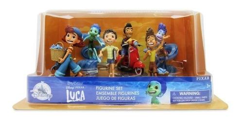 Imagem 1 de 4 de Luca Pixar Filme 6 Bonecos Playset Disney Store