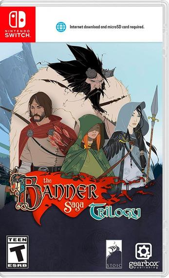 Banner Saga Trilogy Nsw Nuevo