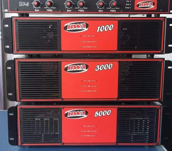 Amplificador De Potência Rwa 5000w