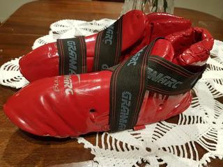 Equipo De Kickboxing Protector De Pies Manos E Inguinal