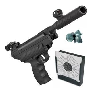Pistola Aire Comprimido Hatsan 25 Potenciada - 4,5 / 5,5 Mm