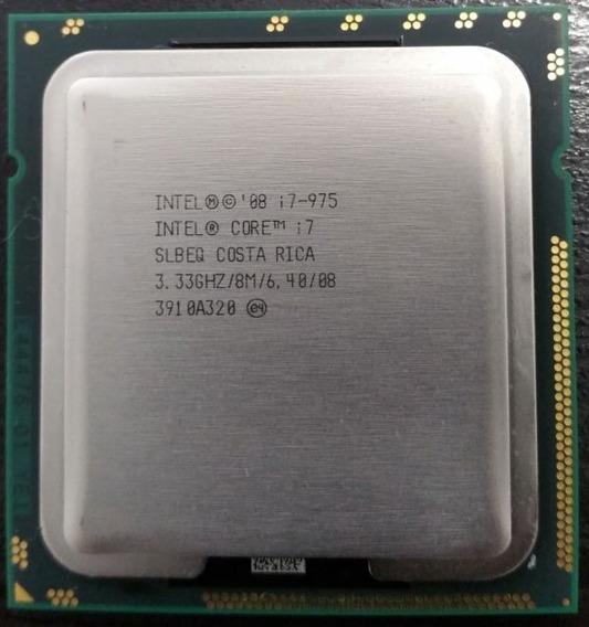 Processador Intel Core I7 975 Extreme Edition 3.33ghz 1366
