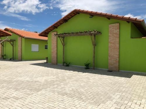 Linda Casas De Condomínio No Cibratel Em Itanhaém - 6008 Npc