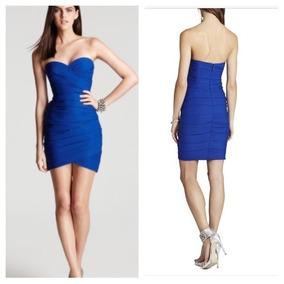 1339b71f5 Remate Vestido Strapless Bcbg Maxazria Azul Rey Talla 2