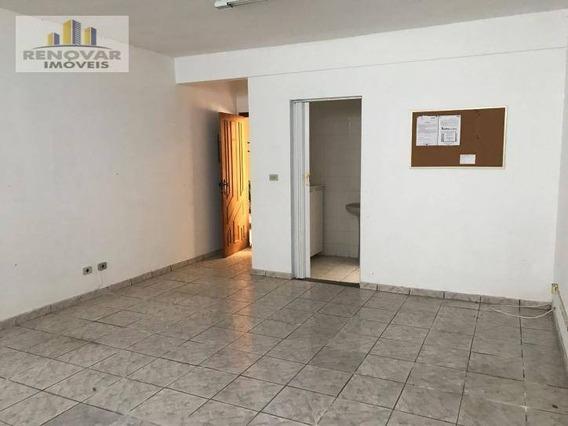 Sala Comercial Para Locação, Mogi Moderno, Mogi Das Cruzes - . - Sa0015