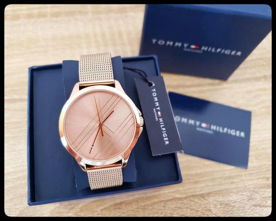 Reloj Casual Mujer Tommy Hilfiger Acero Inoxidable Oro Rosa