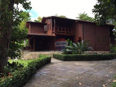Casa Com 7 Dormitórios Para Alugar, 560 M² Por R$ 3.000/mês - Aldeia Dos Camarás - Camaragibe/pe - Ca0191