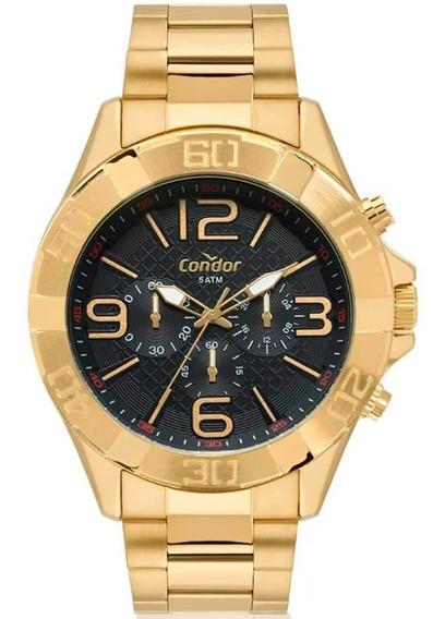 Relógio Masculino Condor Covd54bd/4p Barato Original