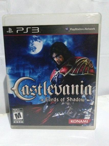 Jogo Castlevania Lords Of Shadows Midia Fisica Ps3 R$75