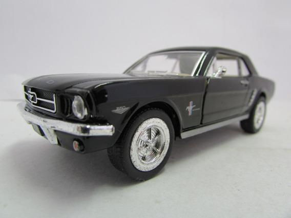Escala 1/36 Kinsmart 1964 Ford Mustang Preto Jorgetrens