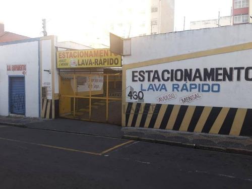 Terreno À Venda, 471 M² Por R$ 1.850.000,00 - Centro - Campinas/sp - Te4341