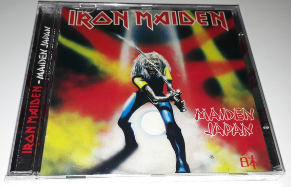 Iron Maiden - Maiden Japan (imp/eu) Cd Lacrado